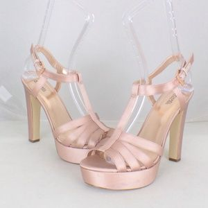 MICHAEL KORS Pink Catalina Platform Sandals #16550